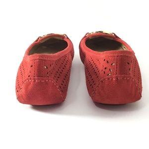 Michael Kors Shoes - Michael Kors Fulton Suede Flats